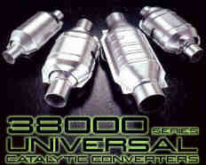 38000 Series Universal CATALYTIC CONVERTERS 