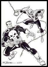 Spider-Man vs. Punisher Commission