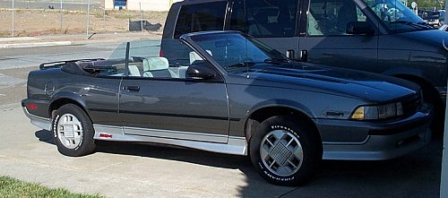 Christina's 1988 Chevrolet Cavalier Z24 Convertible