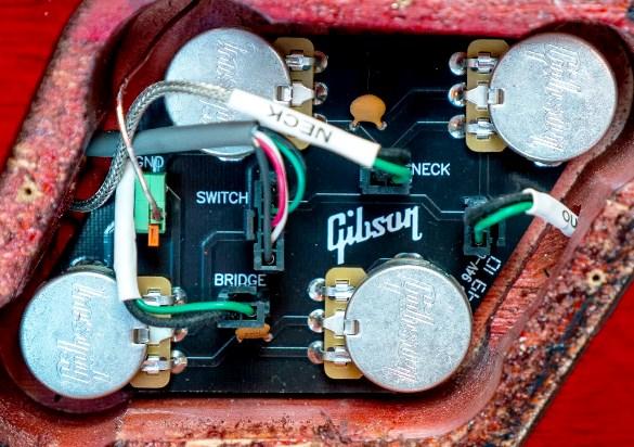 Pleasant Gibson And Epiphone Wiring 101 Nizathateforg