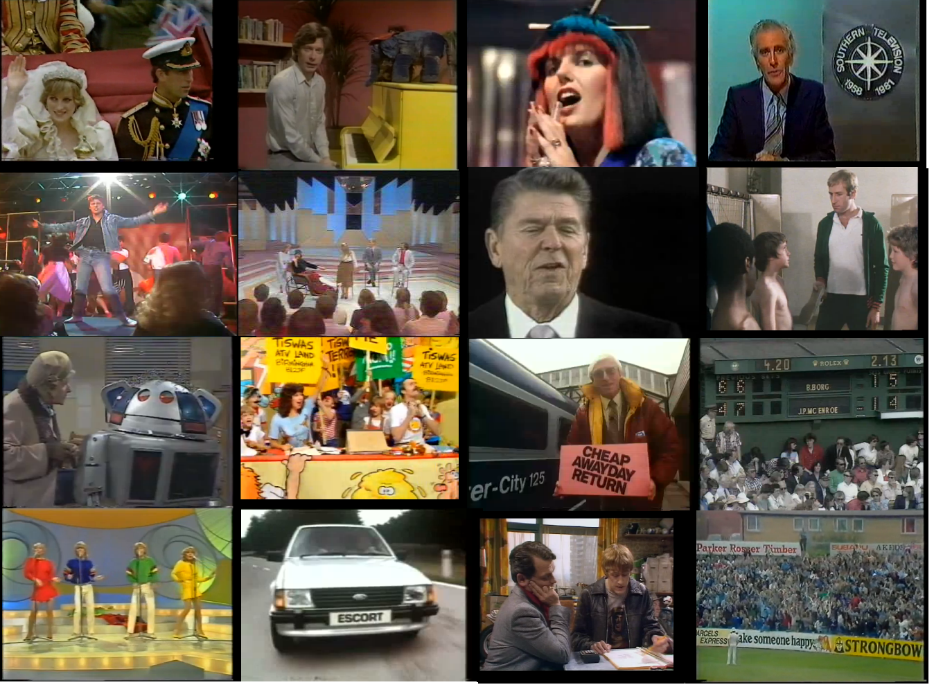 What 1981 was like on the television