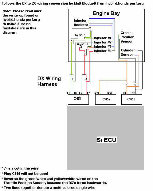 zcwire zc swap info obd2b to obd1 distributor wiring diagram at readyjetset.co