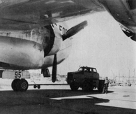 C-124A and tow tug