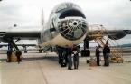 6th BW B-36J nose