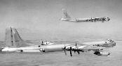 6th BW B-36J in flight