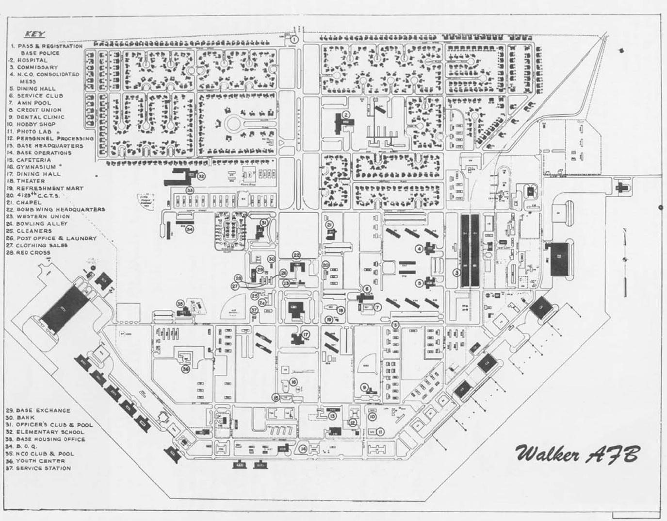Walker map