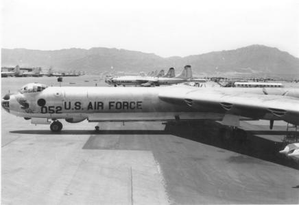 B-36Js Biggs AFB Oct 1956