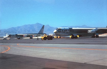 B-52B Stratofortress at Biggs AFB