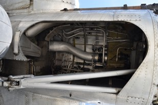 B-17G main wheel well