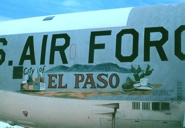 Nose art on second City of El Paso