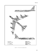 B-52 SIOP pattern from TO 1-1-4