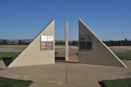 B-52 memorial at USAFA