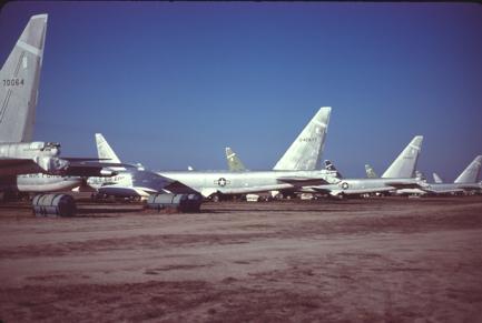 B-52C 54-2677 at MASDC 1979