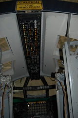 B-52D overhead console
