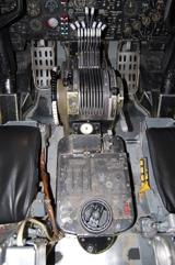 B-52D center console