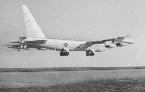 6th BW B-52E landing