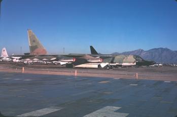 B-52F 57-0035 at MASDC in 1978