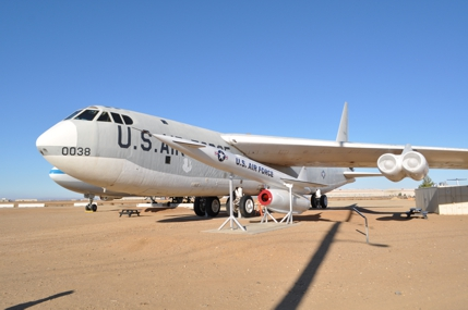 B-52F 57-0038 displayed at Joe Davies Park