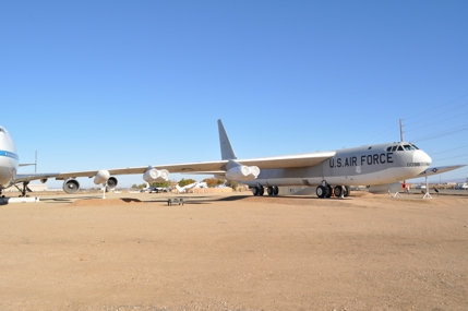 B-52F 57-0038 displayed at the Joe Davies Park in