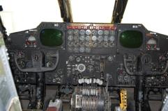 B-52G instrument panel