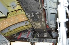B-52G overhead panel
