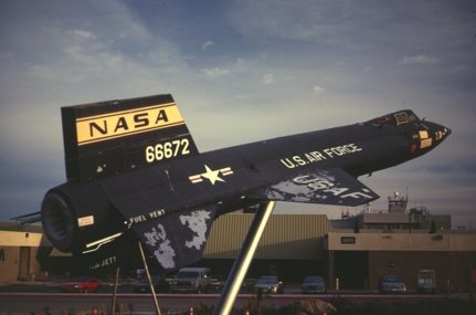 X-15A mockup Dryden Center Edwards AFB