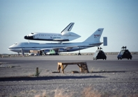 B747 and Shuttle Endeavor