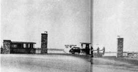 Biggs AFB main gate 1947