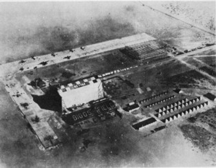 Aerial view of Biggs AAF