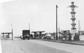 Main gate 1953