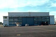 Biggs B-17 hangar