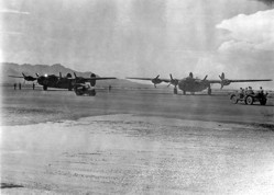 B-24Ds at Biggs AAF