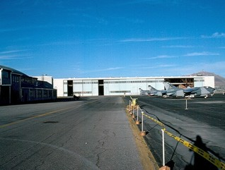 B-52 hangar