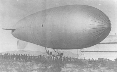 Army Airship C-1 Camp Owen Bierne, TX Sep,                     1920