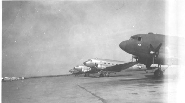 C-47s Biggs AAF 1945