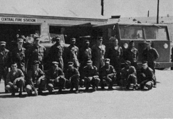 The Biggs AFB central fire station in