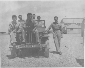G-503 Jeep at Biggs Field World War Two