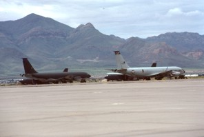 KC-135s and B-52Gs of the 379th BW at