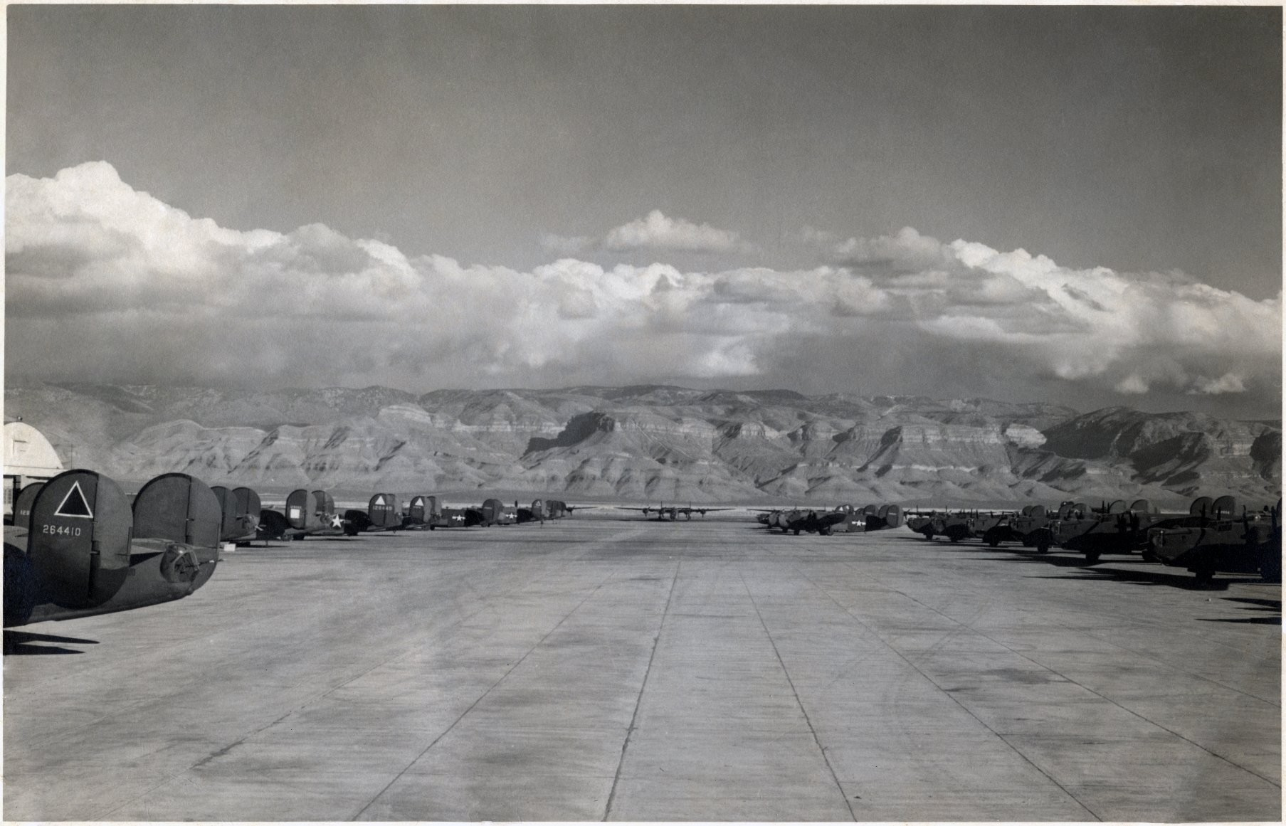 833rd aero squadron - B 24 Used For Training At Alamogordo Aaf