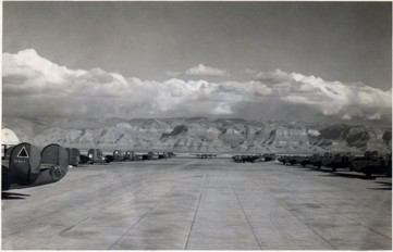 B-24 used for training at Alamogordo AAF