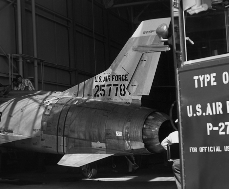 F-100A Super Sabre original short tail