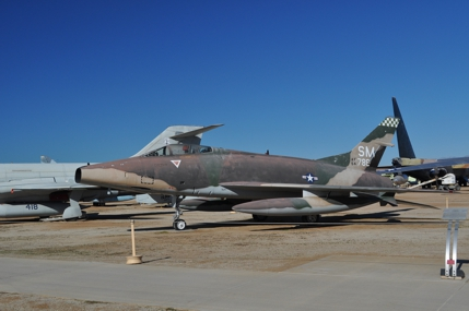 F-100C 54-1786 incorrectly painted to represent an