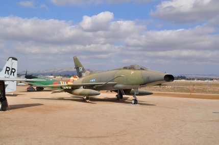 F-100C 54-1786 displayed as a 188th TFS New Mexico