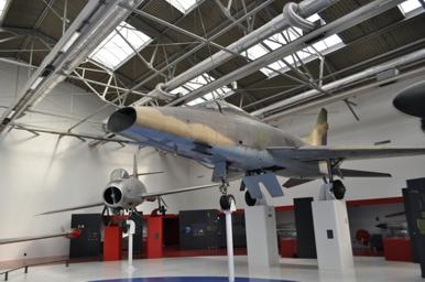 F-100D 55-2736 Musee de L'air Le Bourget