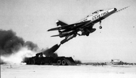 F-100D ZEL launch