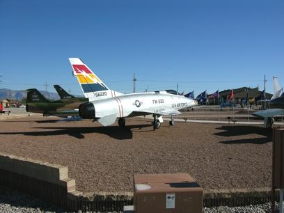 F-100D 56-3220 Super Sabre