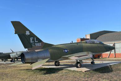 F-100F 56-3982 Big Spring, TX