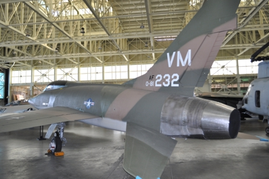 F-100F 58-1232 Pacific Aviation Museum