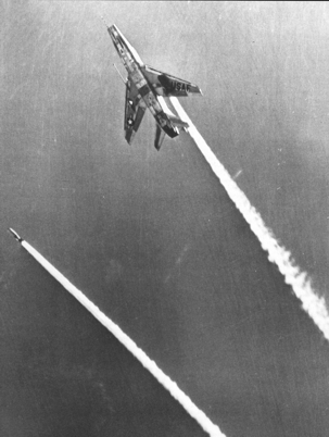 F-100C performing a LABS (Low Altitude Bombing