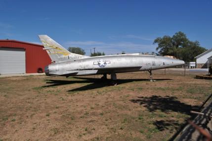 F-100A Super Sabre 53-1600 Tucumcari, NM